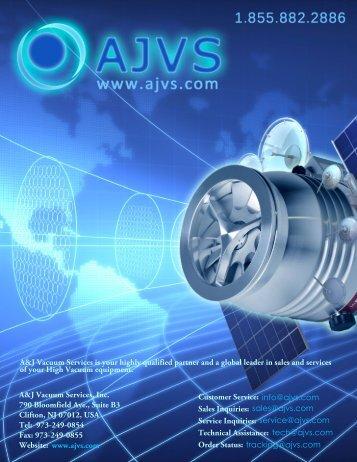 Customer Service: Sales Inquiries: Service Inquiries ... - AJVS.com
