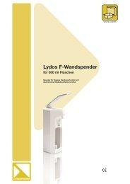 Lydos F-Wandspender - Lysoform.ch