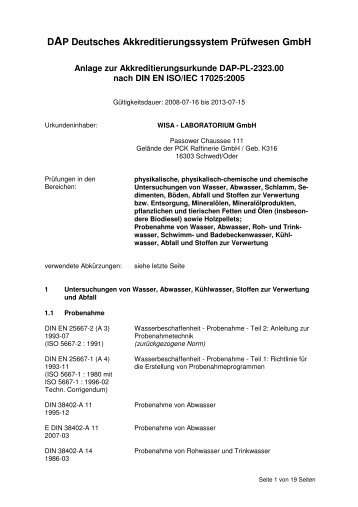 DAP Deutsches Akkreditierungssystem Prüfwesen GmbH