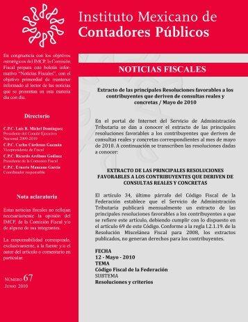 Noticias Fiscales 67