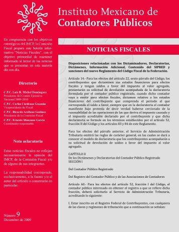 Disposiciones relacionadas con los Dictaminadores, Declaratorias ...