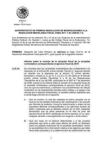 Noticias Fiscales 207 Anexo A