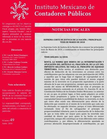 Noticias Fiscales 49