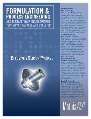 Download Brochure: ESP Engineering Formulation - EXPERTA