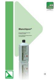 Blanchipon® - Lysoform.ch