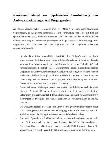 Konstanzer Modul zur typologischen Umschreibung von ...