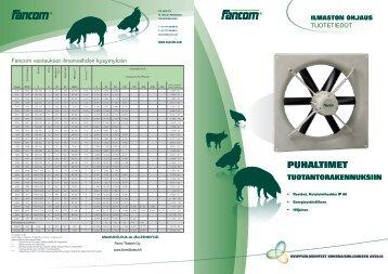 PUHALTIMET - Farmi Tilatech Oy