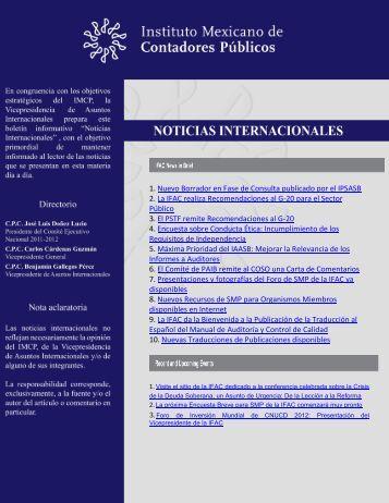 1. Nuevo Borrador en Fase de Consulta publicado por el IPSASB 2 ...