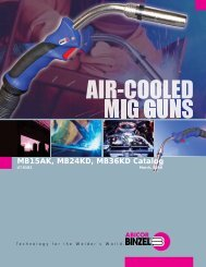 Abicor_Binzel_Air_Cooled_Mig_Gun...