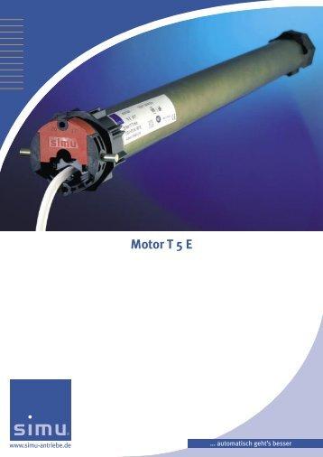 Der Motor T 5 E
