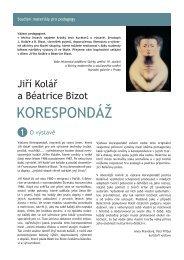 Jiří Kolář a Béatrice Bizot - Národní galerie v Praze