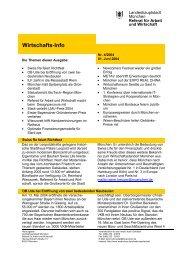 Wirtschafts-Info - Referat für Arbeit und Wirtschaft