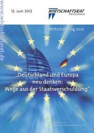 Bundesdelegierte Landesverband Sachsen - Wirtschaftsrat der CDU ...