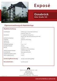 Osnabrück, Atter Straße 165 - Wirtschaftshaus Sachwert GmbH