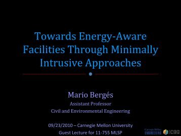 Slides - Carnegie Mellon University