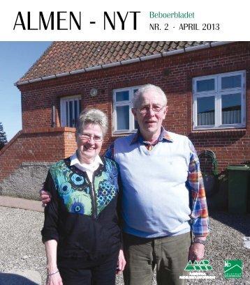 Beboerbladet ALMEN - NYT NR. 2 · APRIL 2013 - kolsbo.dk