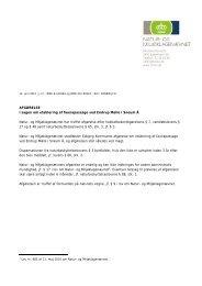 AFGØRELSE i sagen om etablering af faunapassage ved Endrup ...