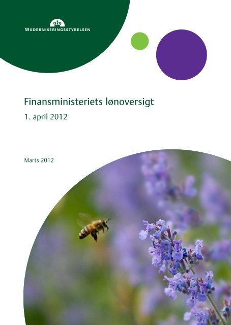 Finansministeriets lønoversigt - Moderniseringsstyrelsen