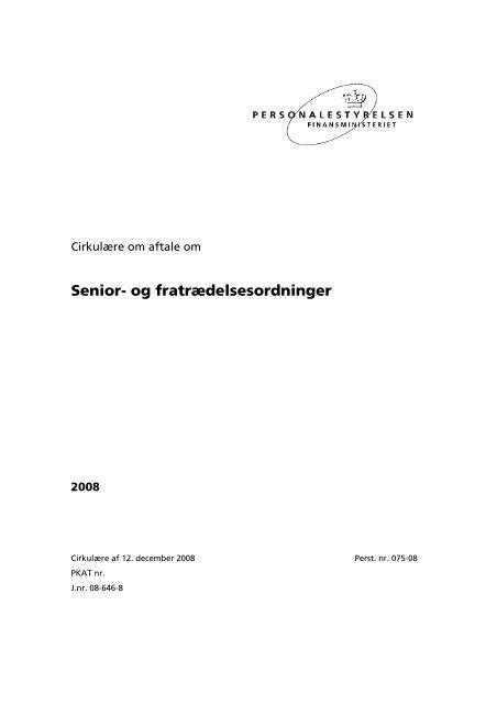 [pdf] Senior- og fratrædelsesordninger - CFU