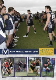 Here's - Victorian Amateur Football Association