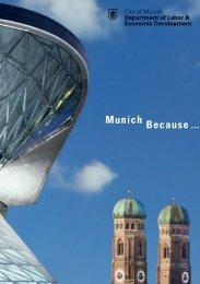 Munich Because ... - Referat für Arbeit und Wirtschaft