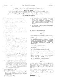 DIRECTIVA 2003/65/CE DEL PARLAMENTO EUROPEO Y DEL ...