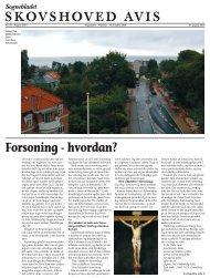 SKOVSHOVED AVIS Forsoning - hvordan? - Skovshoved Kirke