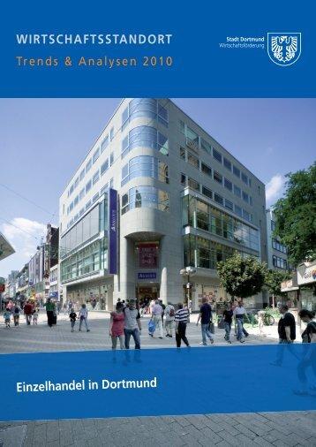 Einzelhandel in Dortmund WIRTSCHAFTSSTANDORT
