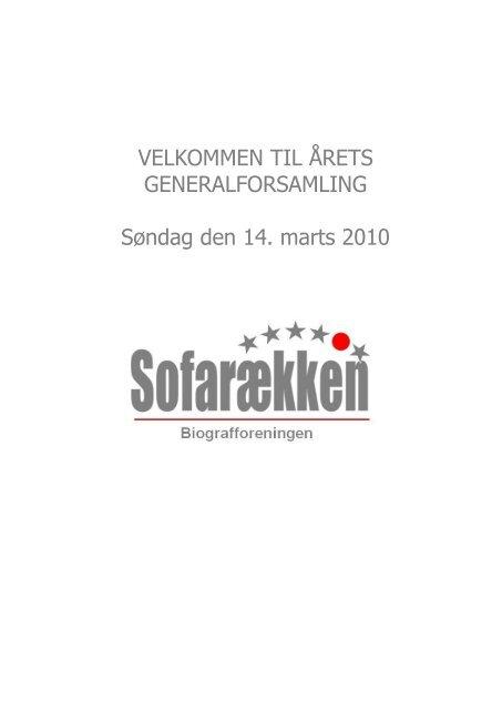 Arbejdsplan & budget 2010 - Glostrup Bio