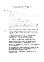 Referat fra generalforsamlingen i 2007 - Glostrup Bio