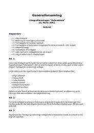 Referat fra generalforsamlingen i 2002 - Glostrup Bio