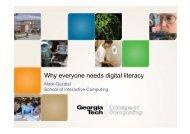 Why everyone needs digital literacy - it-vest