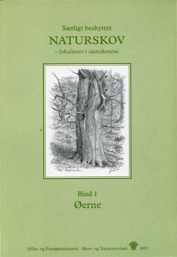 Særligt beskyttet NATURSKOV - lokaliteter