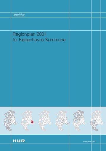 Regionplan 2001 for Københavns Kommune