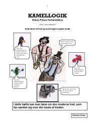 KAMELLOGIK - Anti-humanist