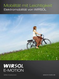 Download (PDF, 615 kB) - Wirsol Solar AG