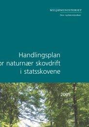 Handlingsplan for naturnær skovdrift i statsskovene - Naturstyrelsen