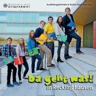 Vorwort - Wirtschaftsförderung Recklinghausen