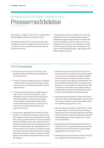 Pressemeddelelse - Ritzau Info