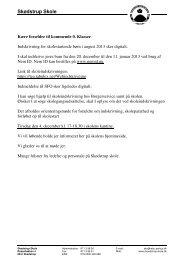 Information vedr. Digital indskrivning 2013-14 - Skødstrup Skole