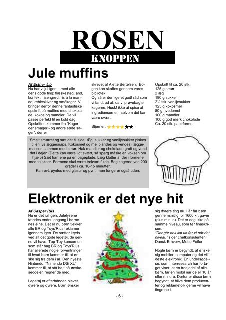 December 2010 - Skødstrup Skole
