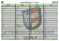 Juniortræning 11-15 år - Stensballegaard Golf