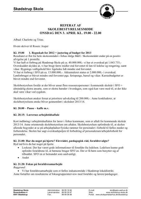 13 04 03 Referat - Skødstrup Skole