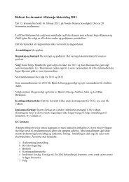 Referat fra årsmøtet i Østensjø historielag 2010