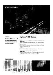 Nylofor 3D Super System 07/06