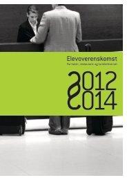 elevoverenskomst 2012 – 2014 - Horesta