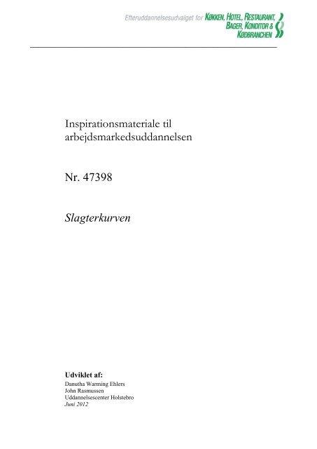 47 398 Slagterkurven - khru.dk