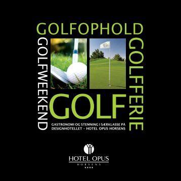 Se brochure - Stensballegaard Golf