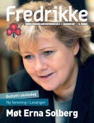 Møt Erna Solberg - Norske Kvinners Sanitetsforening