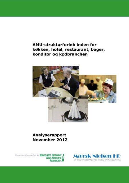 AMU-Strukturforløb inden for køkken, hotel, restaurant ... - khru.dk